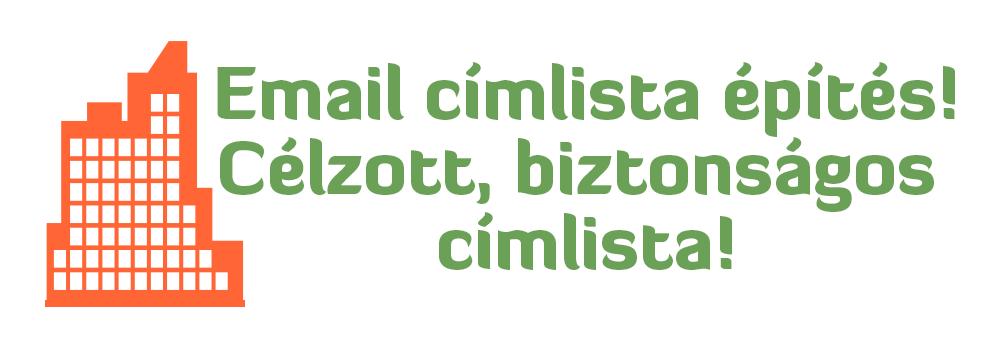 Hatékony email címlista építés, mely kiszámítható eredményeket hoz
