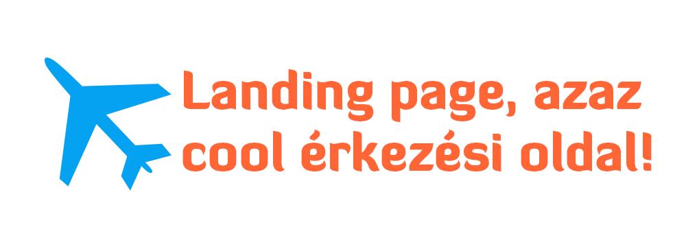 Landing page szövegírás, landing oldal készítés
