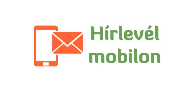 Mobilra optimalizált hírlevél – olvasás mobilról